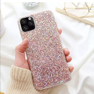Ponk Glitter iPhone 11, pro, max case